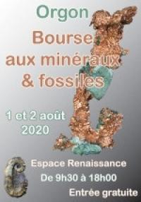 Bourse-mineraux-fossiles Orgon