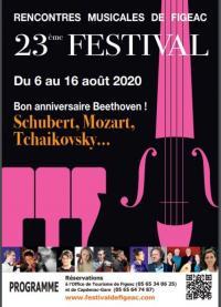 Evenement Cransac 23ème Festival de Musique Autour des Cordes
