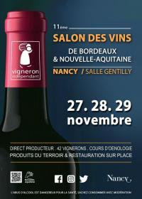 Evenement Nancy SALON DES VINS DE BORDEAUX ET NOUVELLE-AQUITAINE