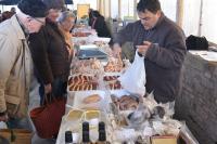Evenement Saint Robert Marchés traditionnels au gras et aux truffes - découpe de canard