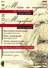 Evenement Cransac Concert Joseph Haydn Missa in Angustiis et Antonio Vivaldi : Magnificat