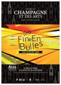 Evenement Viels Maisons 3éme édition : FINE EN BULLES Festival du Champagne et des Arts