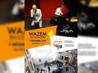 Evenement Rouvroy Wazem  concert à la médiathèque.