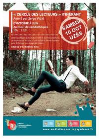 Evenement Boulbon Cercle des lecteurs itinérant, avec Serge Vidal