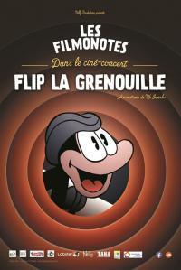 Evenement Saint André de Cruzières Ciné/Concert - Flip la Grenouille