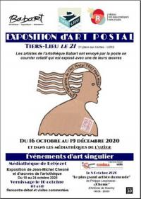 Evenement Nîmes Exposition d'Art postal au Tiers-lieu Le 21
