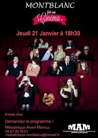 Evenement Salles d'Aude LA MEDIATHEQUE FAIT SON CINEMA (SOUS RESERVE)