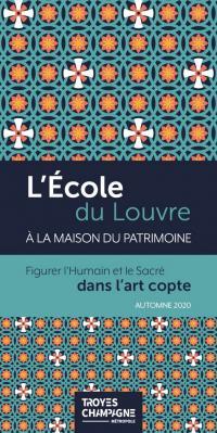 Evenement Le Pavillon Sainte Julie Ecole du Louvre - Figurer l'humai et le sacré dans l'art copte - Cours en ligne