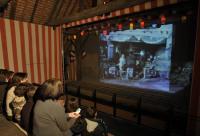 Evenement Saint Sauvier Ciné goûter pour enfants La Fontaine fait son cinéma