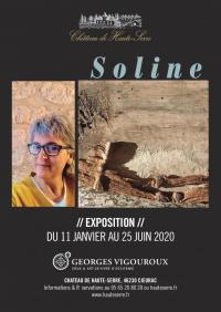 Evenement Lot Exposition : Soline au Château de Haute-Serre