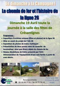 Evenement Torvilliers Un dimanche à la campagne : L'histoire de la ligne 26 !