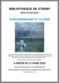 Evenement Yoncq ANNULE - ESPACE DE RÉFLEXION - CHATEAUBRIAND ET LA MER
