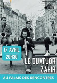 Evenement Barzy sur Marne SPECTACLE jeunes talents : Le Quatuor Zahir