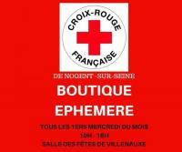 Evenement Montpothier Boutique éphémère de la Croix Rouge