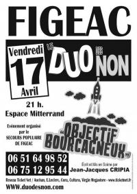 Evenement Ambeyrac Spectacle Le Duo des Non - Objectif Bourcagneux