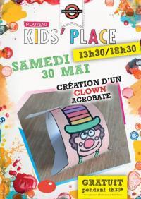 Evenement Charmont sous Barbuise Annulation Marques Avenue Troyes - Kids'Place : Création d'un clown acrobate