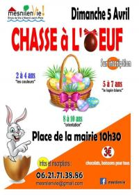 Evenement Piney Chasse à l'Oeuf