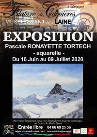 Evenement Laval d'Aurelle EXPOSITION AQUARELLES - PASCALE TORTECH
