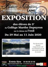 Evenement Borne EXPOSITION PHOTOGRAPHIE - COLLEGE MARTHE DUPEYRON