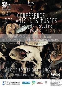 Evenement Longsols Conférence : « Jérôme Bosch. Faux-semblants du monde - Espace et narration. Les faux-semblants de la perspective. »