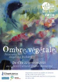 Evenement Saint Thibault Exposition « Ombre végétale » d'Angélina Richard
