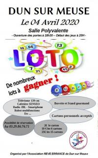 Evenement Tailly LOTO