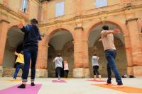 Evenement Mont de Marsan Initiation Patrimoine et Yoga