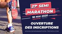 Evenement Échemines Ouverture des inscriptions au 27e semi-marathon de Troyes