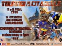 Evenement Mas Cabardès TOURNOI DE LA CITADELLE - CHAMPIONNAT INTERNATIONAL DE BEHOURD