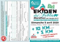 Evenement Mont Saint Père Ekiden des Fables 2020