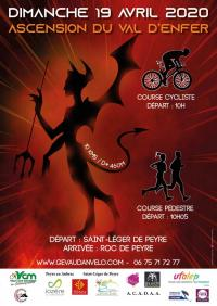 Evenement Prades d'Aubrac ASCENSION DU VAL D'ENFER