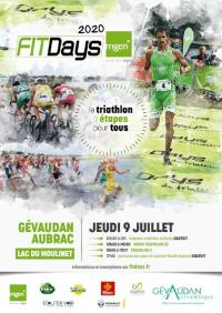 Evenement Prades d'Aubrac TRIATHLON GÉVAUDAN-AUBRAC FITDAYS MGEN