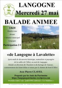 Evenement Laval d'Aurelle BALADE ANIMÉE - DE LANGOGNE À LAVALETTE
