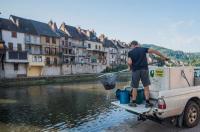 Evenement Balsièges Lâchers de truites - Rivière Lot à Saint-Laurent-d'Olt
