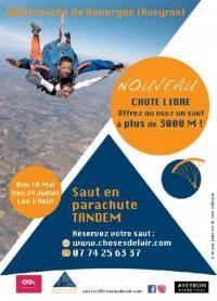 Evenement Montbazens Saut en parachute tandem