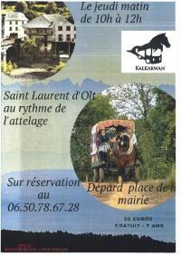 Evenement Balsièges F'Estivales des Causses à l'Aubrac : L'Aveyron au rythme d'un attelage avec le club Kalkarwan