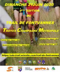 Evenement Saint Benoist sur Vanne Trail de Fontvannes - Troyes Champagne Métropole