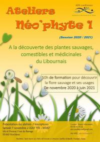 Evenement Cercoux Ateliers Néo'phyte 2021