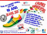 Evenement Saint Couat d'Aude TRAIL DE L'ARGENT DOUBLE 2020