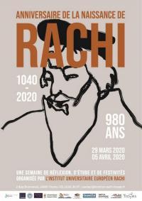 Evenement Verrières Journée d'études Le rayonnement de l'école de Rachi