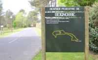 Le circuit jaune du golf Soorts Hossegor
