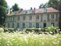 Jardin du chateau de Sacy Pont Sainte Maxence