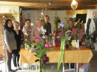 Idée de Sortie Moyrazès La Grange aux fleurs, Laurence Lacombe