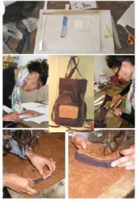 Idée de Sortie Vabres l'Abbaye Stages découverte et formation continue du travail du cuir