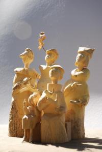Idée de Sortie Saint Cyprien sur Dourdou Sculpture sur bois - Jean-Pierre Caen