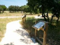 Sentier de la Yeuseraie Gard