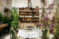 Domaine de Sengresse  Exposition estivale de la grange et jardin d´agrément Landes