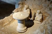 Musée et site archéologiques d´Argentomagus jardin romain Indre