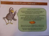 Idée de Sortie Saint Léon sur l'Isle Jeu de piste Choukie le choucas