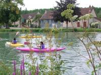 Idée de Sortie Charny le Bachot kayak - gite loisirs méry